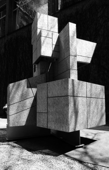 "-Ziggurat"" garden folly at the Arts Club of Chicago 2"