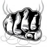 Fist vector art