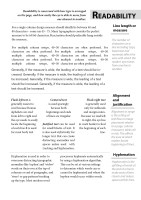 Good Typography Page 5 Readability