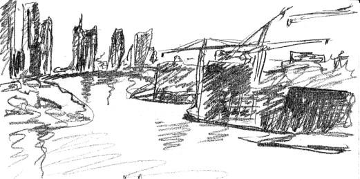 Dubai building from video