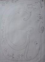 Letter G: A2 brainstorm sketch