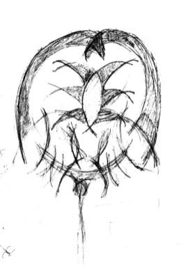 Letter X: sketch