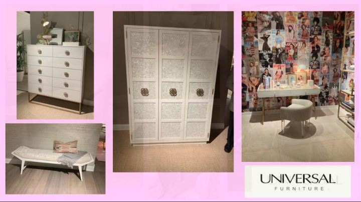 Universal furniture cabinets and dressers