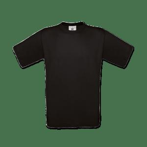Unisex T-shirt sort