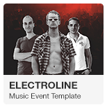Music Event Adobe Muse Template