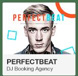 PerfectBeat DJ Booking Agency Adobe Muse Template