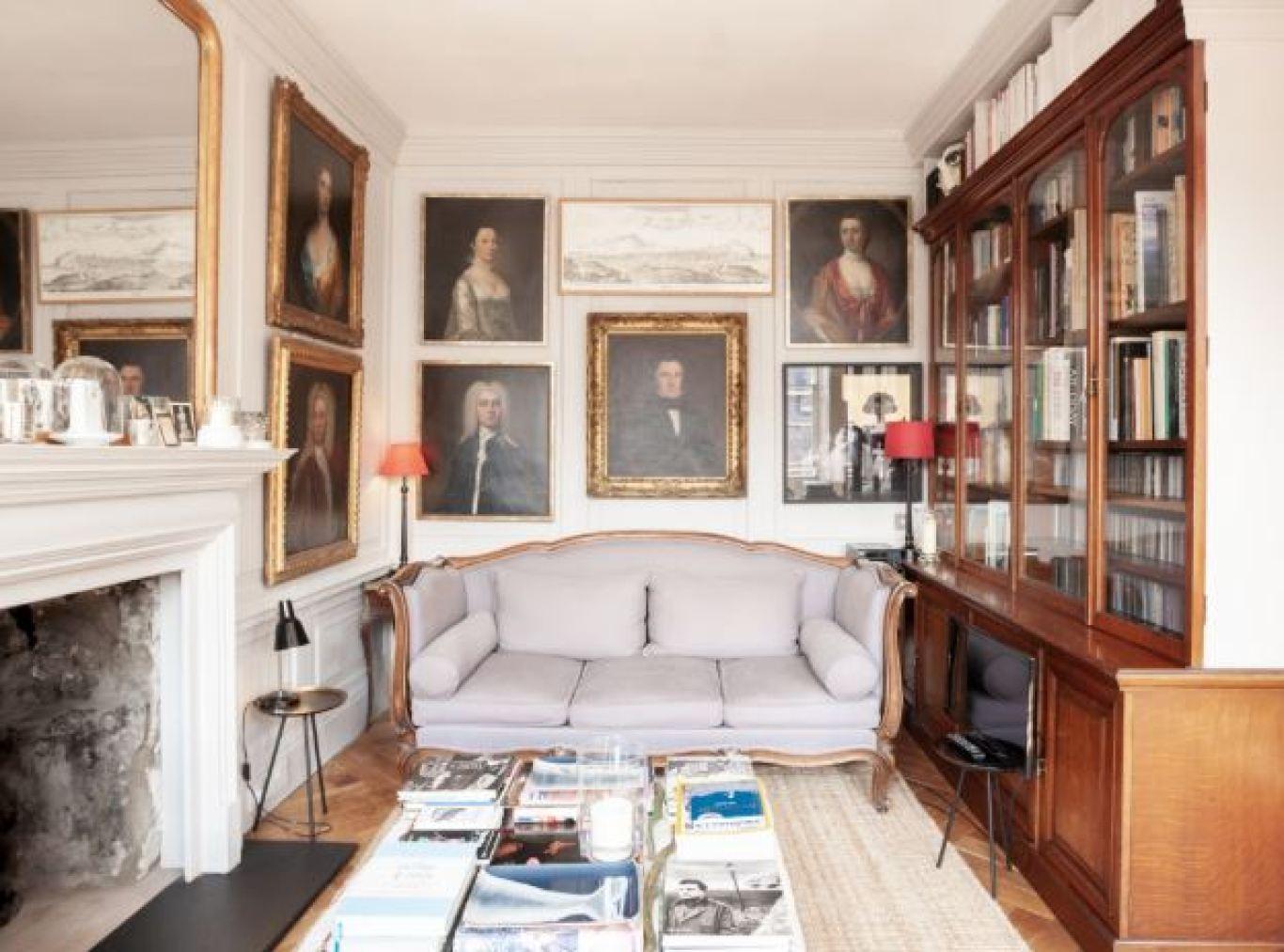 georgian styled living room