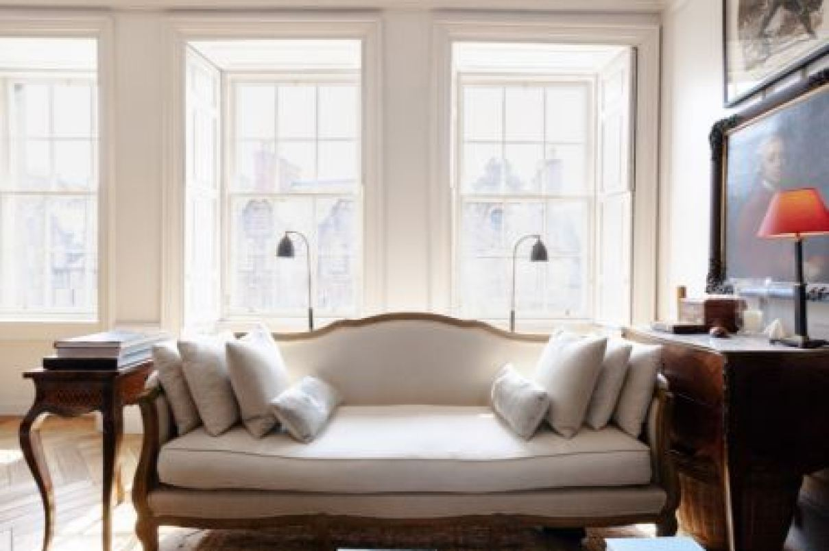 living room georgian styled sofa