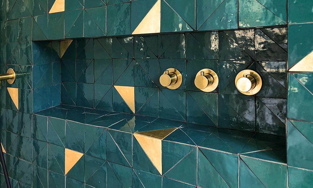 mosaic zellingo tile lacquered