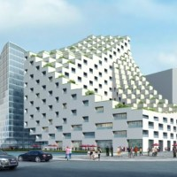 Architecture: In China: Hangzhou Waves by JDS architects (Julien de Smedt)