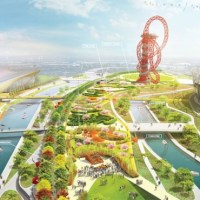 Architecture: Landscape Architecture: Queen Elizabeth Olympic Park by James Corner Field Operations