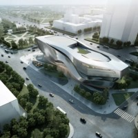 Architecture: In China: Dalian Museum by 10 Design