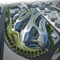 Architecture: In China: Hongqiao Soho (Linkong Economic Park) by Zaha Hadid
