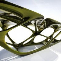 Architecture + Design: Mesa Table by Zaha Hadid Architects