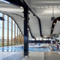 Architecture: The Mantes-la-Jolie Water Sports Centre  by Agence Search