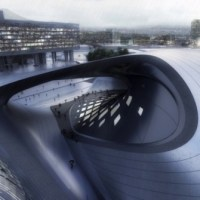 * Architecture: Bogota International Convention Centre by Zaha Hadid Architects