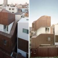 * Residential Architecture: Double Helix House by Onishimaki + Hyakudayuki Architects