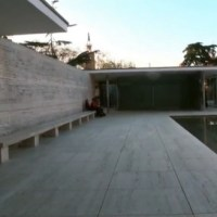 * Architecture: German Pavilion (aka Barcelona Pavilion) by Ludwig Mies van der Rohe