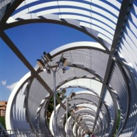 * Architecture: Arganzuela Footbridge by Dominique Perrault Architecture