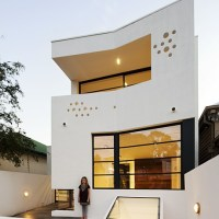* Residential Architecture: The White House Prahran by Nervegna Reed Architecture, ph Architects