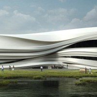 * Architecture: Yinchuan Art Museum by WAA