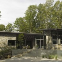 * Residential Architecture: Bromont House by Paul Bernier Architecte