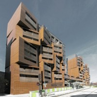 * Residential Architecture: Basket Apartments in Paris by OFIS Architects