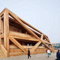 * Architecture: Fire Island Pines Pavilion by HWKN