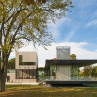 * Residential Architecture: Tred Avon River House by Robert M. Gurney Architect