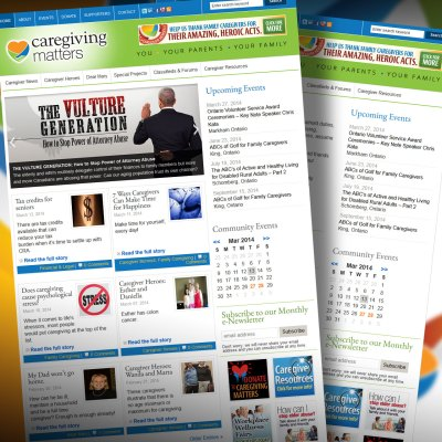 Caregiving Matters Website