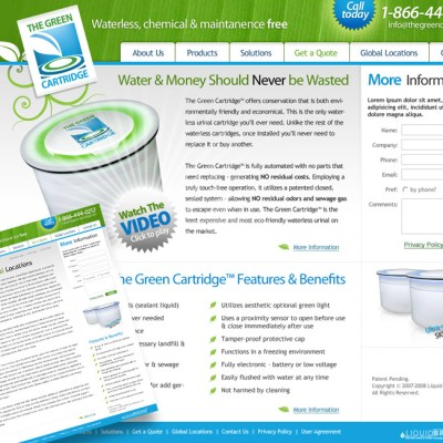 The Green Cartridge Website