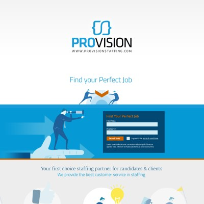 ProVision Staffing Website