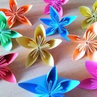 Kusudama blommor