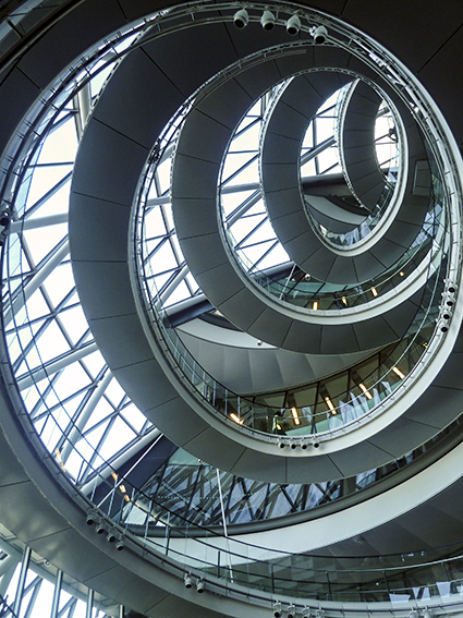 Stairway To Heaven London City Hall Design And Dragons