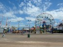 The famous Wonder Wheel