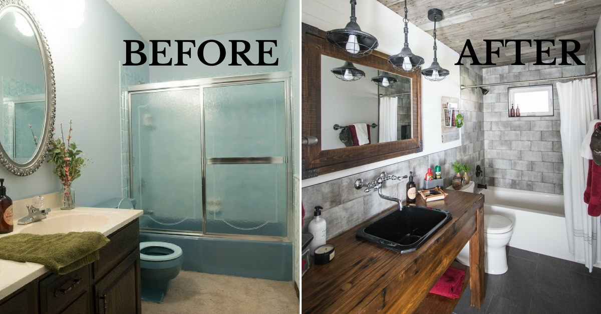 diy guy's bathroom remodel with maria bosak - design and living