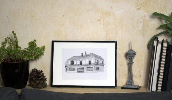 Boutique Reproduction art illustration DUC Saint-NAzaire