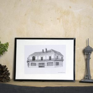 Boutique Reproduction art illustration DUC Saint-NAzaire
