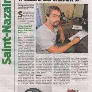 Article Presse Océan Thomas Ducourneau DUC