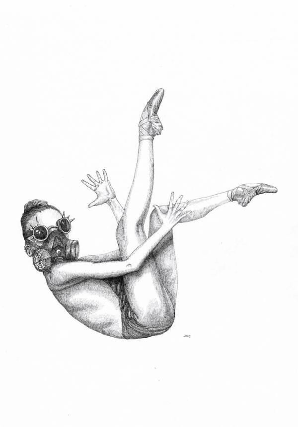 Design and more & More illustration art dessin aquarelle DUC Thomas Ducourneau Boutique punk ballet