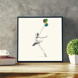 Design and more & More illustration art dessin aquarelle DUC Thomas Ducourneau Boutique ballet et ballons