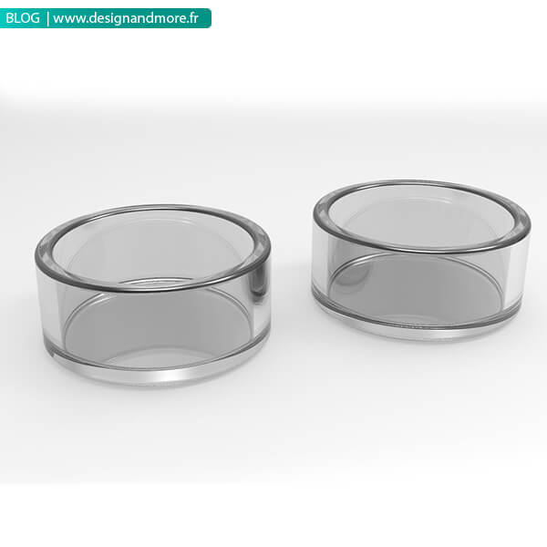 design modélisation 3D pots