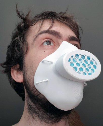 masque covid 19 3D print 2