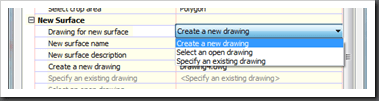 Autodesk Civil 3D New Drawing Option