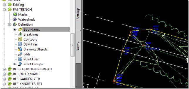 Civil 3D – Simple Surface Paste