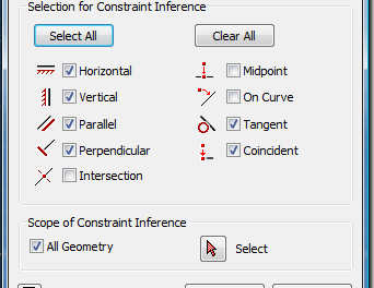 Inventor – Constraint Options