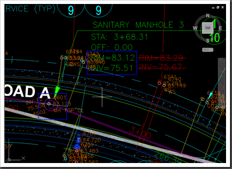 Civil 3D – Pipe Structure dragging and elevations changes