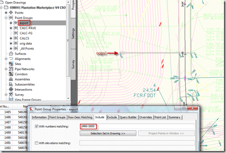 Civil 3D – Export Group for CSO