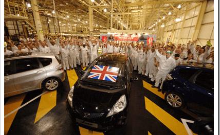 Japan Earthquake Impacts Honda UK Production