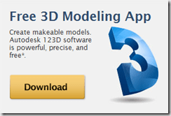 Autodesk 123D is Available